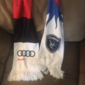 SJ Earthquakes Scarf - HOF 2019 $16 FIRM -26